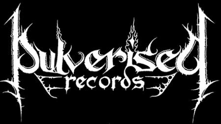 Pulverised Records - Large Logo!! B&W!