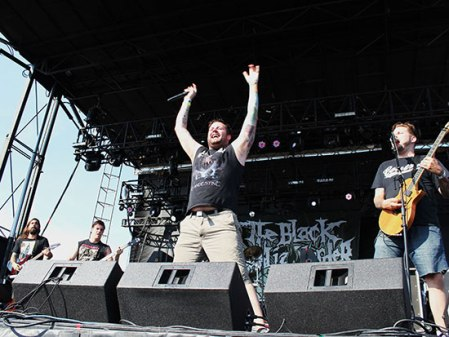 The Black Dahlia Murder - live promo pic - #1 - 2012