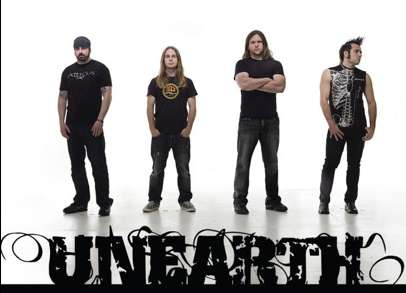Unearth - Group Promo Pic - logo - 2012