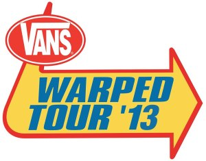 Vans Warped Tour - 2013 - Large Logo!