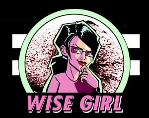 Wise Girl - Large Logo!!