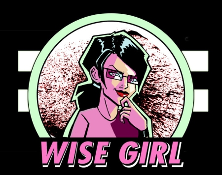 Wise Girl - Large Logo!!