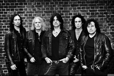 Black Star Riders - group photo by Mattia Zoppellaro