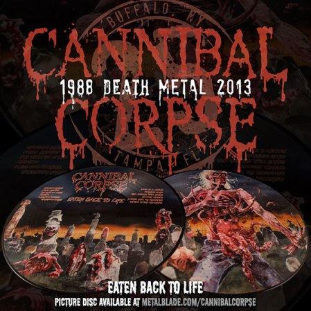 Cannibal Corpse - Eaten Alive - Ad Promo - 2013