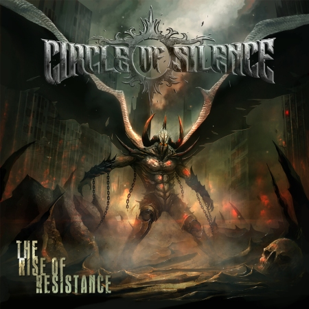 Circle Of Silence - The Rise Of Resistance - promo cover pic!