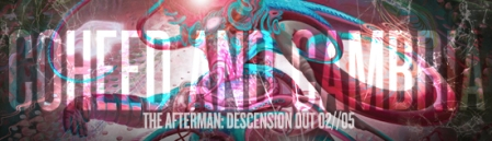 Coheed And Cambria - The Afterman Descension - banner promo!
