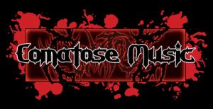 Comatose Music - Large Logo - Red & Black!