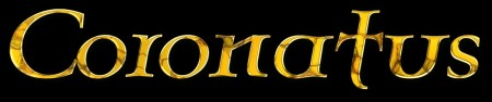 CORONATUS - band logo - large!