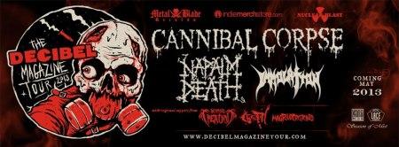 Decibel Magazine Tour - 2013 - promo banner