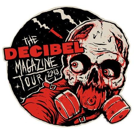 Decibel Magazine Tour - 2013 - promo poster