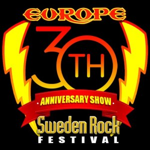 Europe - 30th Anniversary Logo - Sweden Rock Festival