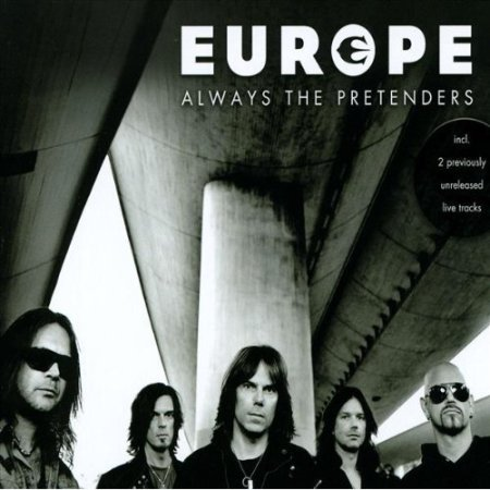 Europe - Always The Pretenders - CD single - cover promo