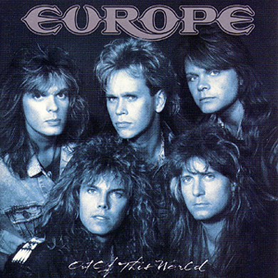 Europe - Out Of This World - promo cover pic!