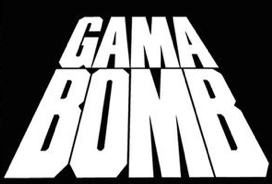 Gama Bomb - Logo - B&W
