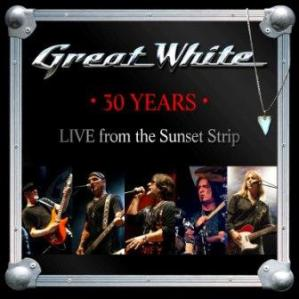 Great White - 30th Anniversary - promo cover pic!