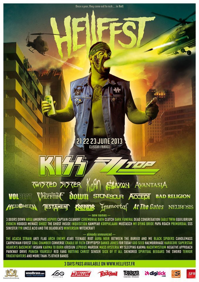 Hellfest - 2013 - promo poster pic!