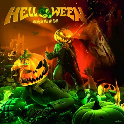 Helloween - Straight Out Of Hell - promo cover pic!
