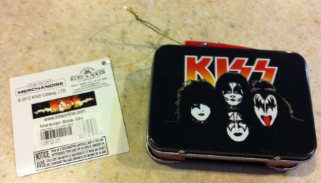 KISS - Mini-Lunch Box - Ornament - backside!