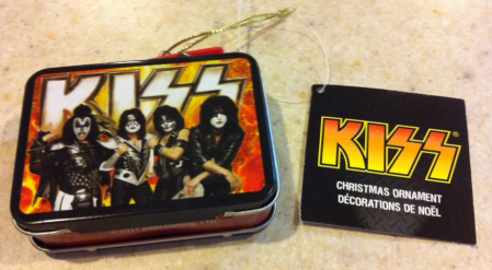 KISS - Mini-Lunch Box - ornament - frontside!