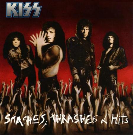 KISS - Smashes Thrashes & Hits - promo cover!