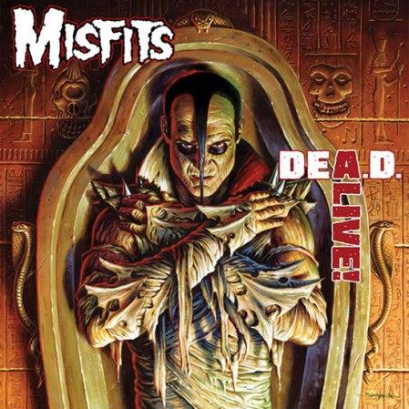 Misfits - Dea.d. Alive! - promo cover pic!