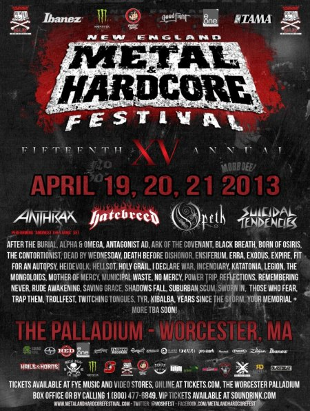 New England Metal & Hardcore Festival - XV - promo poster pic!