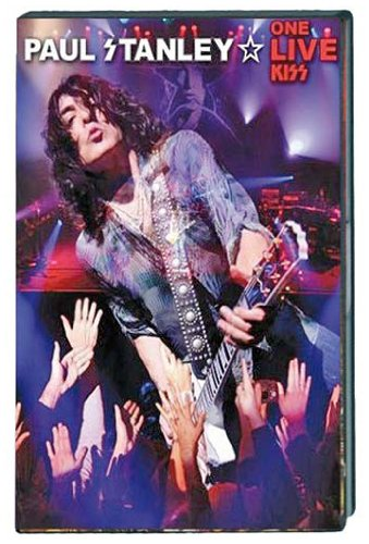Paul Stanley - One Live KISS - DVD promo cover pic!
