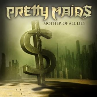 Pretty Maids - Mother Of All Lies - single cover