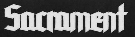 Sacrament Music - large logo!