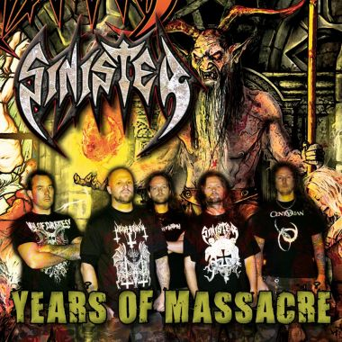 Sinister - Years Of Massacre - promo cover pic!