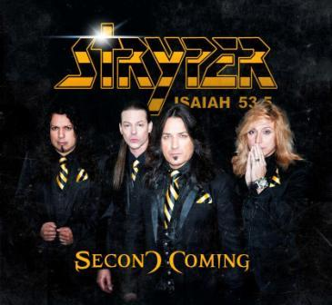 Stryper - Second Coming - promo cover pic!