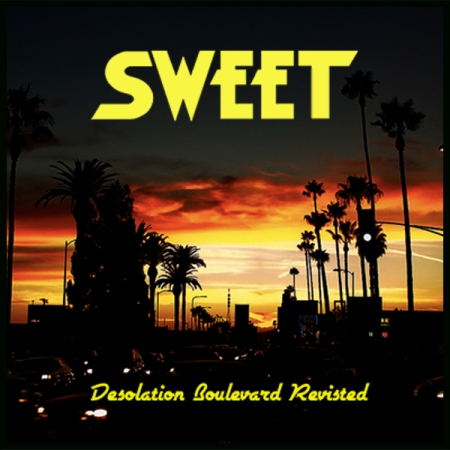 Sweet - Desolation Boulevard Revisited - promo cover pic!