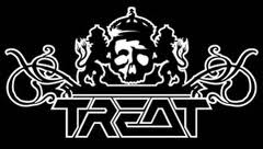 Treat - large logo - B&W