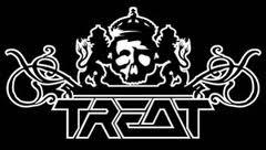 Treat - large logo - B&W