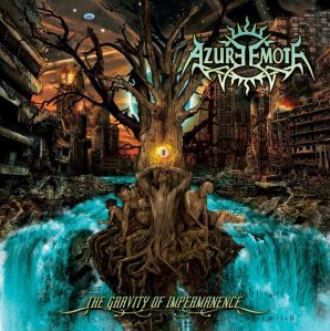 Azure Emote - The Gravity Of Impermanence - promo cover pic