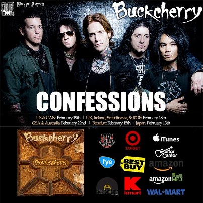 Buckcherry - Confessions - promo ad - 2013