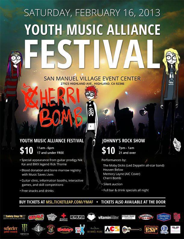 cherri bomb | Metal Odyssey > Heavy Metal Music Blog