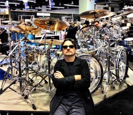 Dave Lombardo - ludwig vistalite kit - 2013