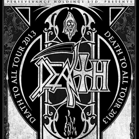 Death To All - Tour 2013 - promo poster
