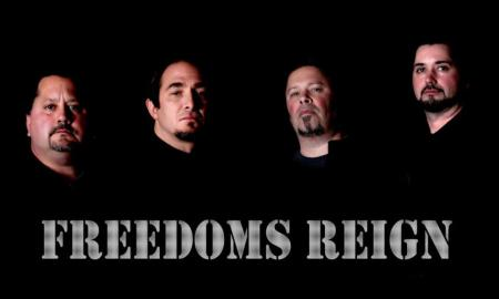 Freedoms Reign - Group Promo Pic - logo - 2013
