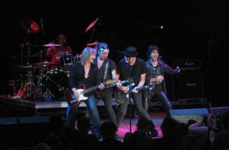 Great White - live concert pic - January 2013