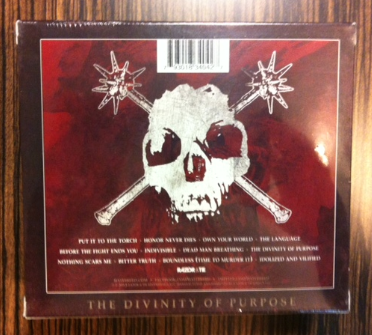 Hatebreed - The Divinity Of Purpose - back - box set - pic!