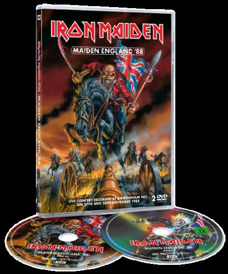 Iron Maiden - Maiden England '88 - promo DVD cover pic