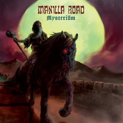 Manilla Road - Mysterium - cover promo pic!