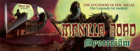 Manilla Road - Mysterium - promo banner - 2013