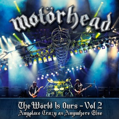 Motorhead - The World Is Ours Vol 2 - promo cover pic!