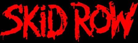 Skid Row - large logo - red & black
