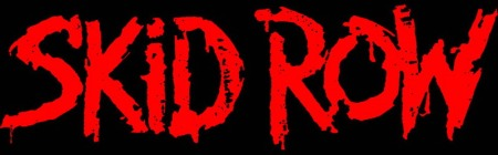 Skid Row - large logo - red & black