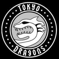 Tokyo Dragons - large logo - B&W