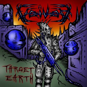 Voivod - Target Earth - promo cover pic!